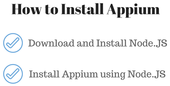 Download and Install Appium 1 7 2 (updated