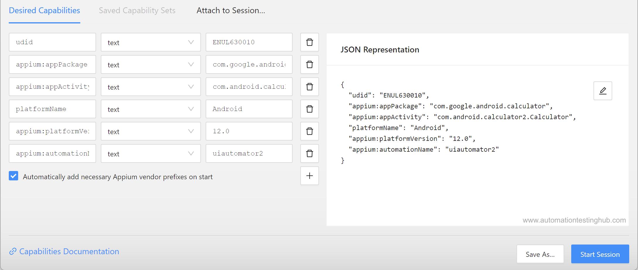 Appium Desktop Inspector - Part 1 - AutomationTestingHub