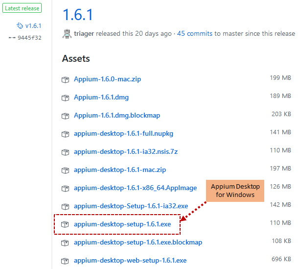 Appium Desktop App - Download and Install - AutomationTestingHub