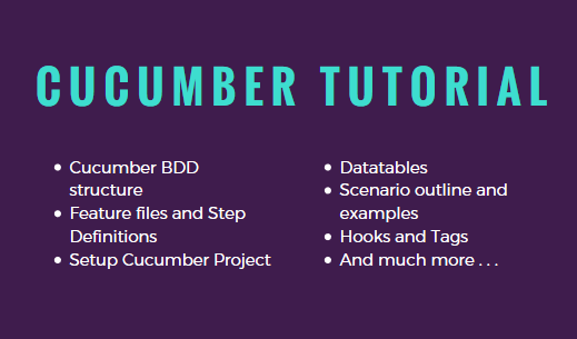 Cucumber BDD with Selenium - Introduction - AutomationTestingHub
