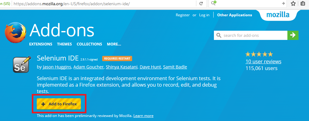 Download and Install Selenium IDE - AutomationTestingHub