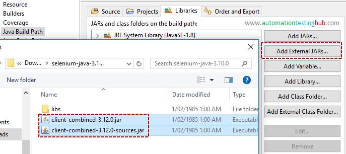 Download and Install Selenium (Tutorial) - AutomationTestingHub