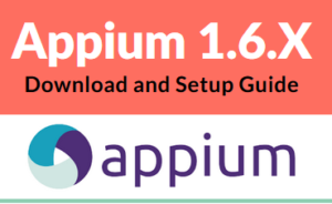 Download and Install Appium 1.7.2 (updated)