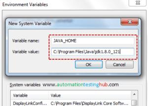 Setup Java Environment Variables