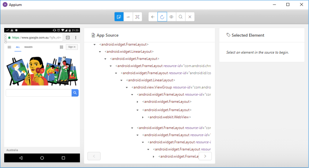 Identify Mobile Browser Elements with Appium - Part 1